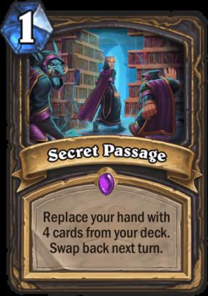 Secret Passage Card