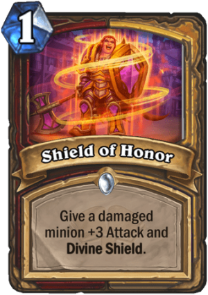 Shield of Honor Card