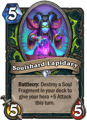Soulshard Lapidary Card