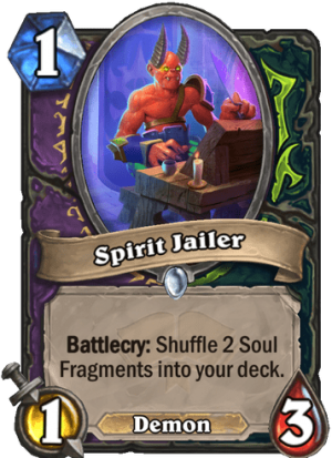 Spirit Jailer Card