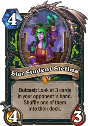 Star Student Stelina Card