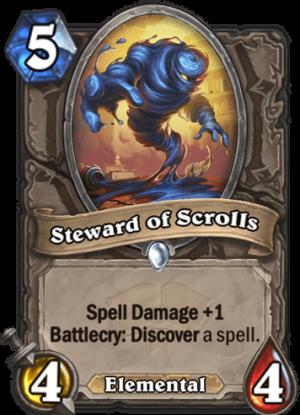 Steward of Scrolls Card