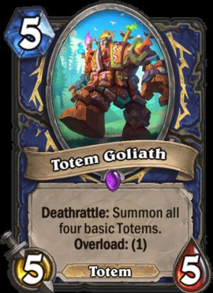 Totem Goliath Card