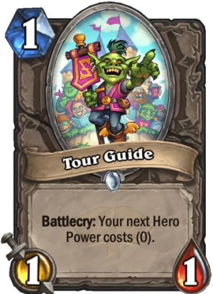 Tour Guide Card