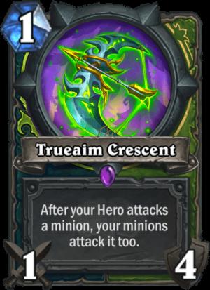 Trueaim Crescent Card