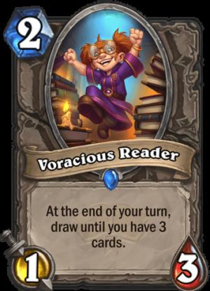 Voracious Reader Card