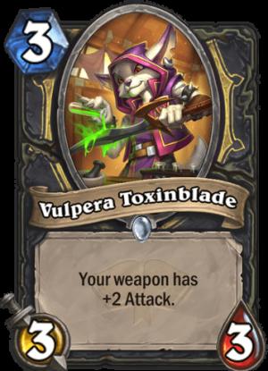 Vulpera Toxinblade Card