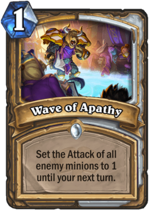 Wave of Apathy Card