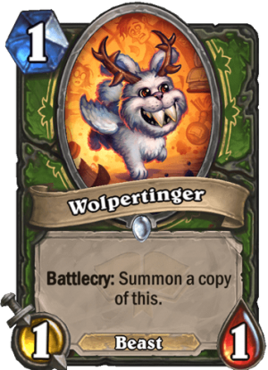 Wolpertinger Card