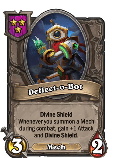 Deflect-o-Bot Card!