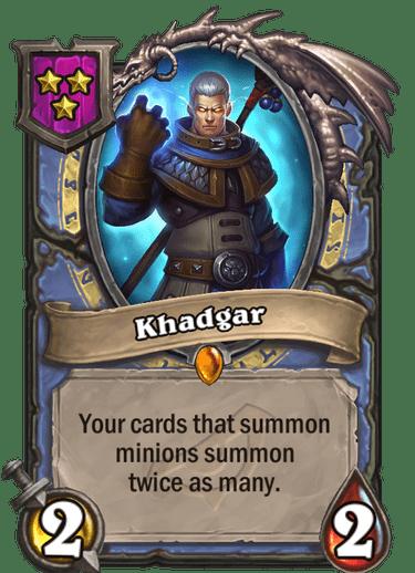 Khadgar Card!