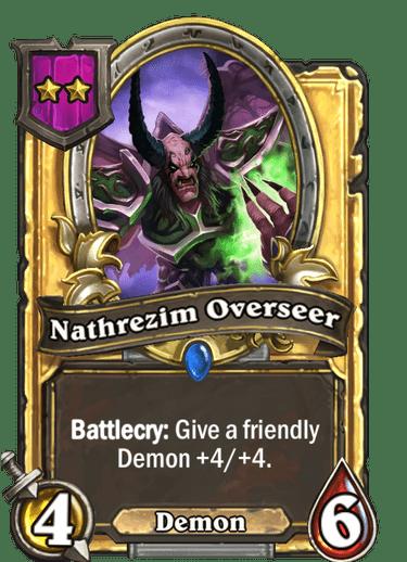 Nathrezim Overseer Card