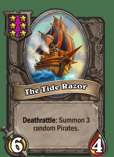 The Tide Razor Card!