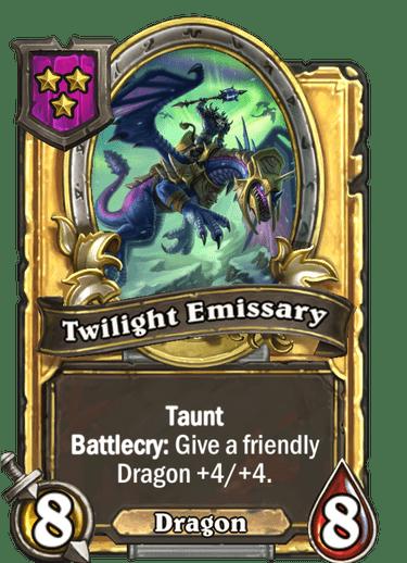 Twilight Emissary Card