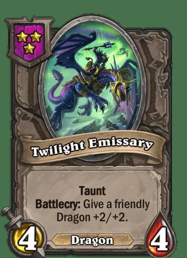 Twilight Emissary Card!