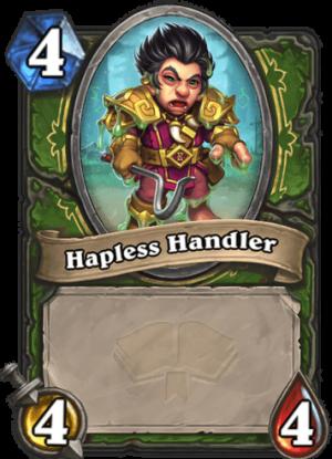 Hapless Handler Card