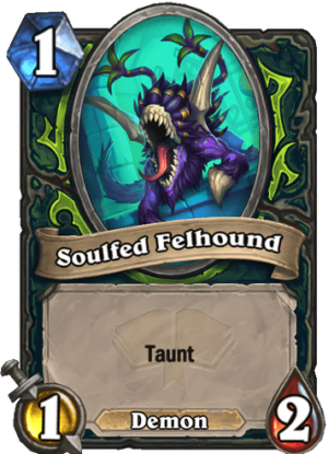 Soulfed Felhound Card