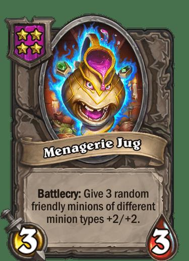 Menagerie Jug Card!