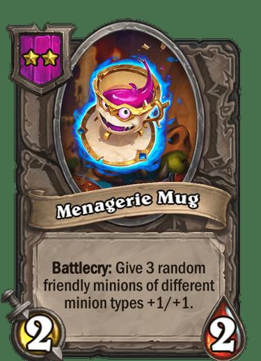 Menagerie Mug Card!