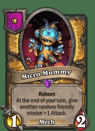 Micro Mummy Card!