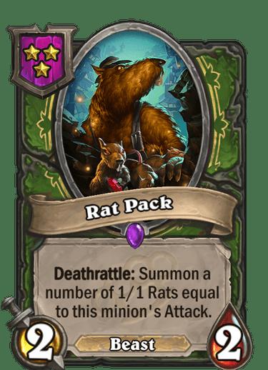Rat Pack Card!