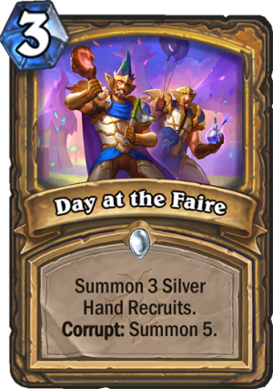 Day at the Faire Card