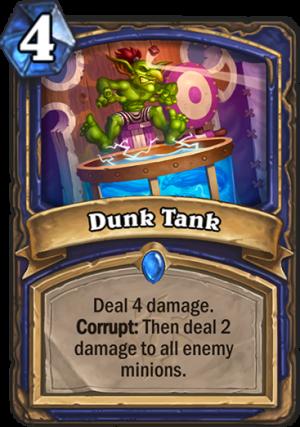 Dunk Tank Card