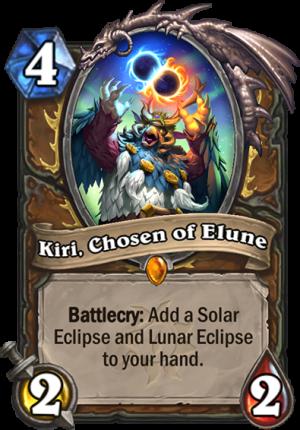 Kiri, Chosen of Elune Card