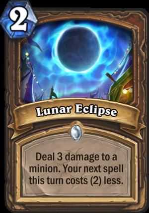 Lunar Eclipse Card