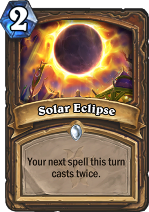 Solar Eclipse Card