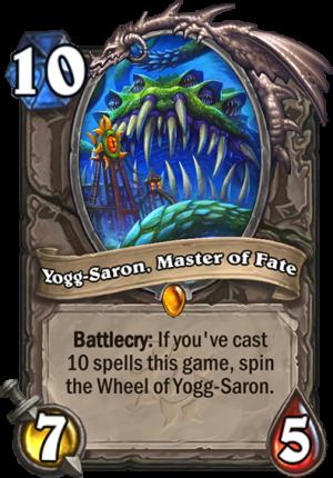 Yogg-Saron, Master of Fate Card
