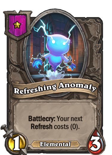 Refreshing Anomaly Card!