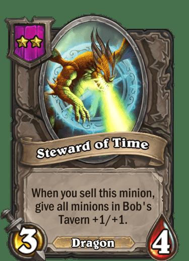 Steward of Time Card!