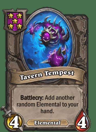 Tavern Tempest Card!