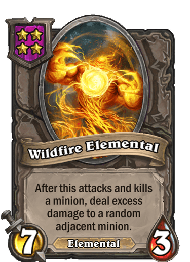Wildfire Elemental Card!