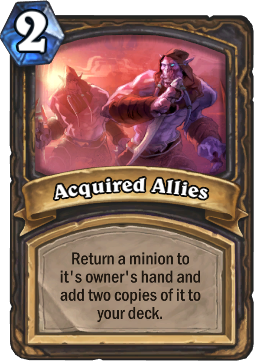 Acquired Allies Card