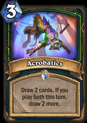Acrobatics Card