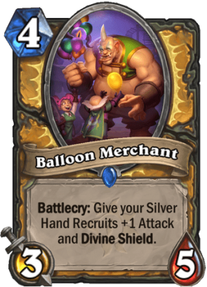 Balloon Merchant Card