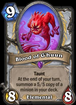 Blood of G'huun Card