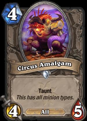 Circus Amalgam Card
