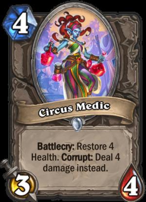 Circus Medic Card