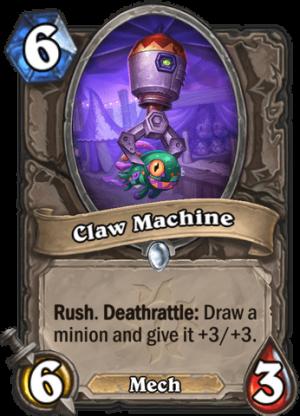 Claw Machine Card