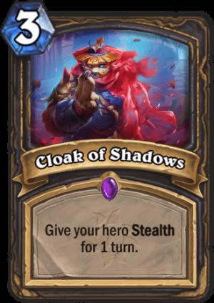Cloak of Shadows Card