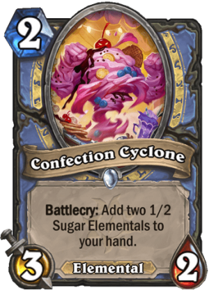 Confection Cyclone Card