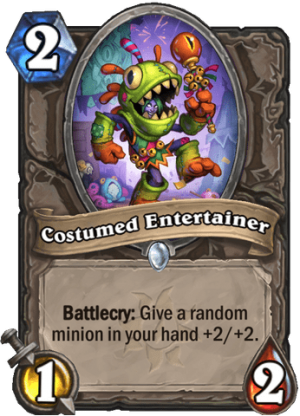 Costumed Entertainer Card