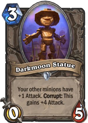 Darkmoon Statue Card