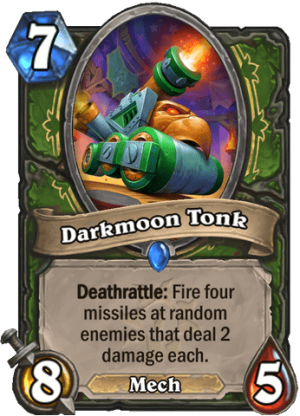 Darkmoon Tonk Card