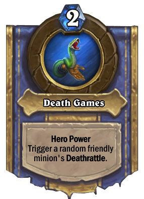 Death Games Card