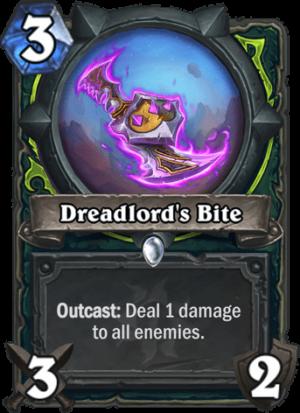 Dreadlord's Bite Card
