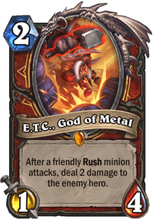 E.T.C., God of Metal Card
